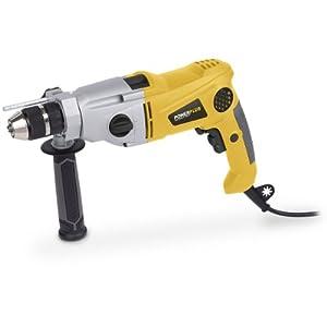 Bohrhammer Schlagschrauber Schlag-Bohrmaschine Bohrschlaghammer Schlagbohrer mit 1.200 Watt Leistung Für Holz, Stahl und Beton – Art. POWX028