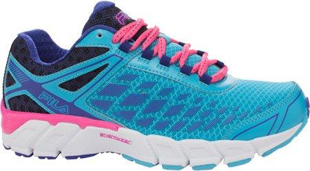 Fila Women's Dashtech Energized Running Shoe, Blue Atoll/Royal Blue/Knock Out Pink, 8.5 M US