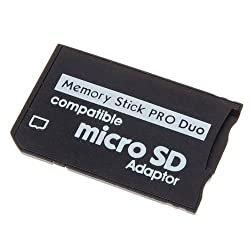 Generic Micro SD TF to MS Pro Duo Memory Stick Adapter