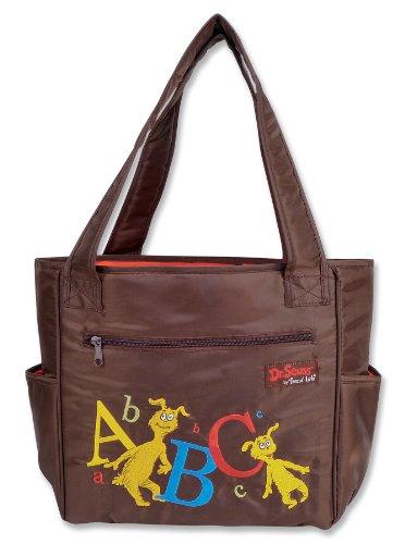Trend Lab Dr Seuss Tulip Style Diaper Bag, Abc front-705970