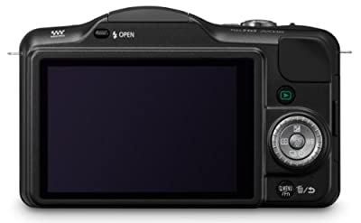 Panasonic Lumix DMC-GF3K 12 MP Micro 4/3 Mirrorless Digital Camera with 3-Inch Touch-Screen LCD and 14-42mm Zoom Lens by Panasonic