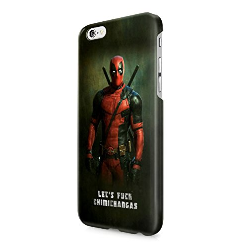 Deadpool Lets Fuck Chimichangas Hard Snap-On Protective Case Cover For Iphone 6 / Iphone 6S
