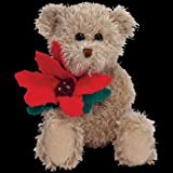 Ty Beanie Babies - 2005 Holiday Teddy with Poinsetta