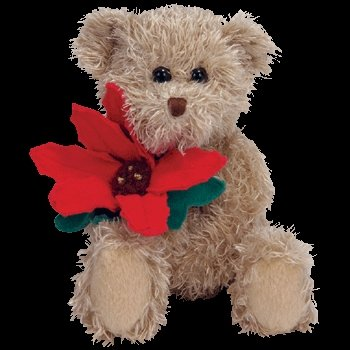 Ty Beanie Babies 2005 Holiday Teddy - Bear