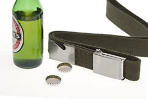 Flaschenöffner-Gürtel - Beer belt opener black