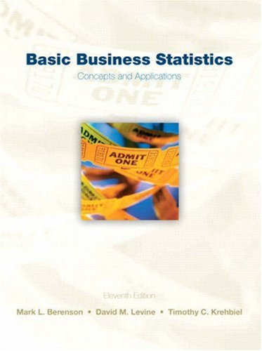 Basic Business Statistics (11th Edition)