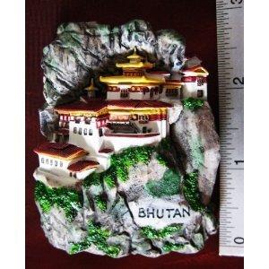 Nest Monastery Asia Magnets Souvenirs Thailand Vintage HandMade Design