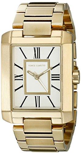 Vince Camuto VC/5228SVGB - Reloj para mujeres, correa de acero inoxidable color dorado