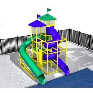 Commercial Water Slide 5791