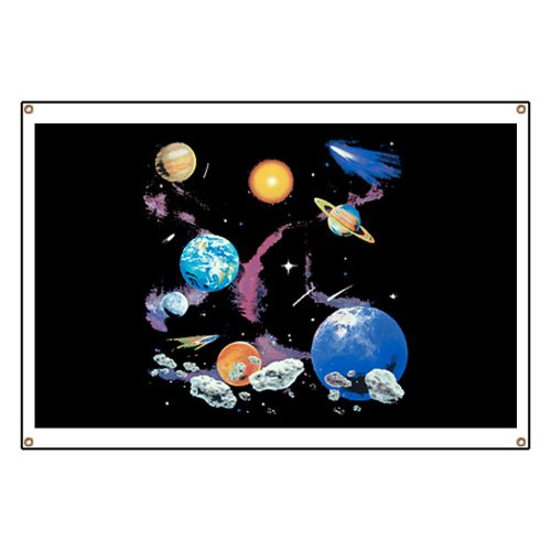 Banner Solar System And Asteroids
