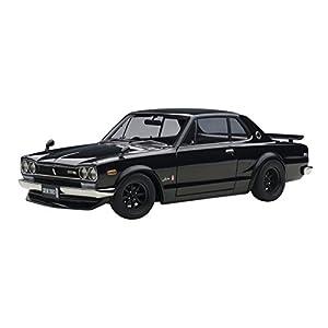 AUTOart 1/18 日産 スカイライン GT-R (KPGC10) チューンド・バージョン (ブラック)