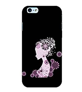Girl Clipart 3D Hard Polycarbonate Designer Back Case Cover for Apple iPhone 6S