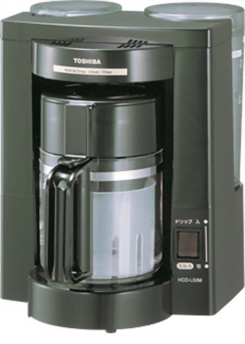 TOSHIBA コーヒーメーカー ブラック HCD-L50M(K)