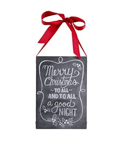 Merry Christmas Chalk Sign