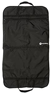Folding Travel Suit or Garment Bag. Lightweight and Easy to Carry with Handles. Includes Shoe Pocket
