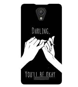 printtech Darling Back Case Cover for Xiaomi Redmi Note 2::Xiaomi Redmi Note 2 (2nd Gen)
