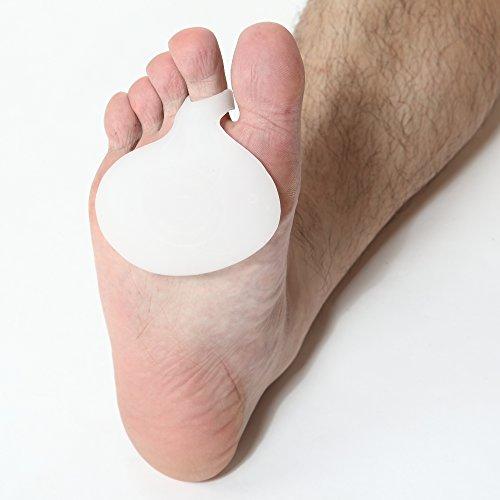 Palla di kit di protezione del rilievo del piede - KingOfHearts™ solette per la cura piedi insieme include 1 paio cuscino metatarso, 1 paio cuscini dell'avampiede, e 1 coppia di sandalo infradito proteggono i rilievi per il sostegno, il sollievo dal dolore