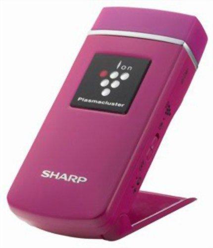 Sharp Plasmacluster Air Ionizer Ig-Cm1 P Pink | Ideal For Desktop (Japan Import) front-564882