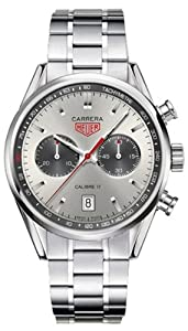 Tag Heuer Carrera Jack Heuer 80th Birthday Limited Edition Chronograph Mens Watch CV2119.BA0722