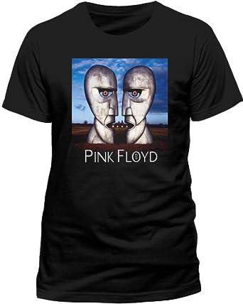 PINK FLOYD Men's Division Bell Short Sleeve T-Shirt, Black, Small