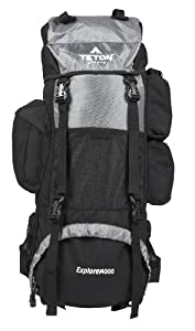 TETON Sports Explorer 4000 Internal Frame Backpack (Grey) by Teton Sports