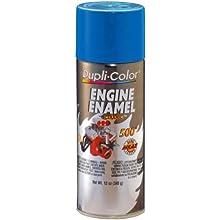 Dupli-Color DE1608 Ceramic General Motors Blue Engine Paint - 12 oz.
