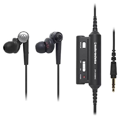 Audio Technica ATH-CKS90NC SOLID BASS Series| Active Noise Cancelling Inner Ear Headphones (Japan Import)