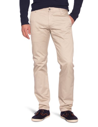 Dockers Alpha Khaki Chino Tapered Men's Trousers Safari beige W32INxL32IN