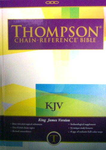 Thompson Chain Reference Bible Style 515 index - Large Print KJV - Hardcover088707331X