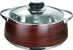 Nayasa Thermoware casserole - Glimmer - 1500 wooden