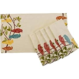 Better Homes and Gardens Songbirds Kitchen Towels, Set of 6 by Better Homes and Gardens
