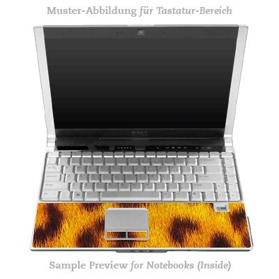 Design Skins für HP EliteBook 2530p Tastatur (Inlay) - Leopard Fur Design Folie