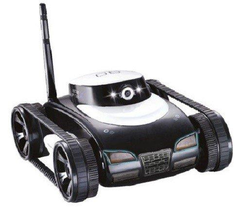 RC Toy Ferngesteuerter Tank mit Kamera steuerbar über Smartphone i-spy Explorer