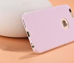 "iPhone 6 Plus / 6s Plus Case, ChuangYi Premium Slim-Fit Flexible TPU with Premium Matte surface Case Cover for iPhone 6 Plus/ 6s Plus (5.5"")-Pink"