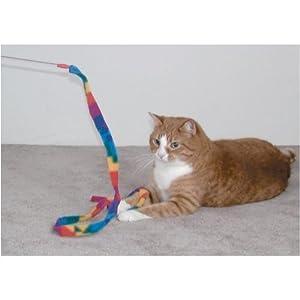 Cat Dancer-Cat Charmer Wand,Teaser-Cat & Kitten Toy!