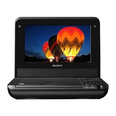 Sony DVP-FX750 7-Inch Portable DVD Player, Black