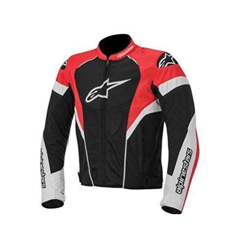 Alpinestars T-GP Plus R Air Men's Street Motorcycle Jackets - Black/White/Red / Small