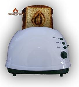 Vagina Novelty Toaster (Green)