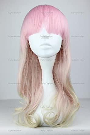 Cosplayerworld Gothic Lolita Long Wig Cosplay Japanese Style Wig tri£color 55cm