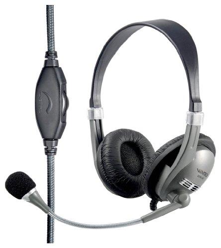 Wintech WH-41 Multimedia Headset silber/schwarz