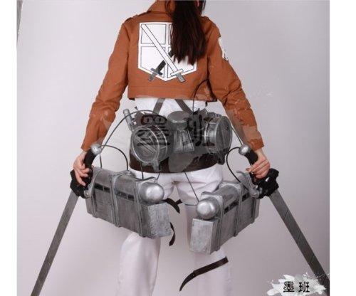 ☆立体機動装置☆進撃の巨人 コスプレ 調査兵団 エレン・イェーガー 【Bセット】