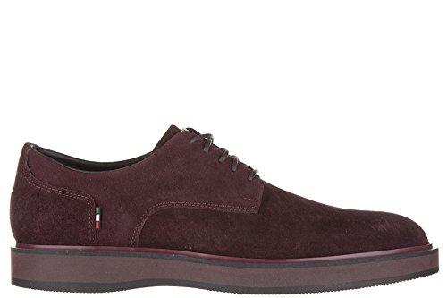 Armani Jeans scarpe stringate classiche uomo in camoscio derby bordeaux EU 42 935015 6A400 06476