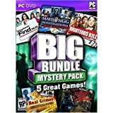 Big Bundle Mystery Pack - 5 great games (PC DVD), Elizabeth Find M.D , Mahjongg Investigations , Righteous Kill , Real Crimes Unicorn Killer , Real Crimes Jack The Ripper