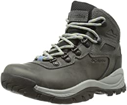 Columbia Womens Newton Ridge Plus suede leather Trekking and Hiking Shoes