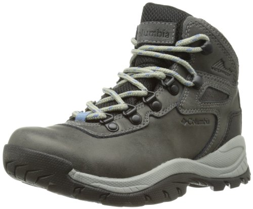 Columbia Women's Newton Ridge Plus Hiking Boot,Quarry/Cool Wave,5 M US