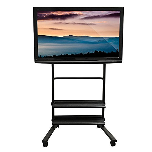 Luxor Entertainment Center Stationery H. Wilson Universal Flat Panel LCD Stand