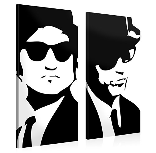impression-giclee-sur-toile-en-grand-format-blues-brothers-105x100cm-photo-sur-toile-de-tendue-sur-c
