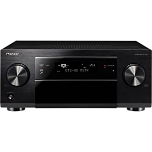 Pioneer SC-1222-K 7.2 Channel Network Ready AV Receiver (Discontinued by Manufacturer)