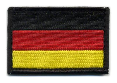 Matrix Velcro Germany Flag Patch.