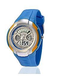 Yepme Mens Analog Digital Watch - Blue